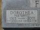 Dorothea <I>Oppitz</I> French
