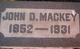 John D Mackey