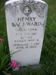 Pvt Henry Backward
