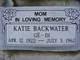 Katie Backwater