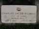 "Charles Jacob "" "" <I> </I> Bauman,"