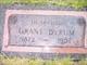 Burr Grant Byrum