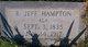 "Profile photo:  R Jefferson ""Jeff"" Hampton"