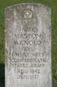 Profile photo:  James Maston Arnold