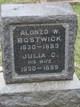Profile photo:  Alonzo William Bostwick