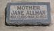 Jane Walker <I>Brull</I> Allman