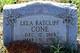 Lela Mae <I>Ratcliff</I> Cone