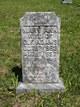 Profile photo:  Mary Ann Elizabeth <I>Butts</I> Adams
