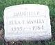 """Rowena Eulala """"Eula"""" <I>Talbot</I> Manley"""