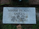 Allie Miriam <I>Pickens</I> Sanges