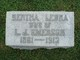 Bertha Leora <I>Biehler</I> Emerson