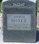 John William Boyce