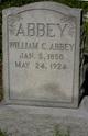 """Profile photo:  William Chester """"Will"""" Abbey"""