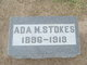 Profile photo:  Ada Mary <I>Burch</I> Stokes