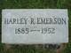 Harley Rudolph Emerson