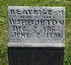 Beatrice H. <I>Smith</I> Warburton