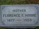 Florence Frederica <I>Jones</I> Moore