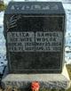 Eliza <I>Wingett</I> Wolfe