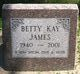 Profile photo:  Betty K James