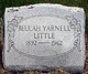 Beulah <I>Yarnell</I> Little