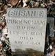 "Susan F. ""Sudie"" <I>Robertson</I> Cunningham"