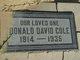 Donald David Cole