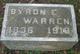 Byron Eldridge Warren