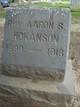 Profile photo: Rev Aaron S. Hokanson
