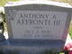 "Profile photo:  Anthony A. ""Tony"" Affronti, III"