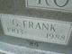 "George Franklin ""Frank"" Roberts"