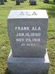 Profile photo:  Frank Olie Ala