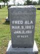 Profile photo:  Fred Ala