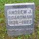 Profile photo:  Andrew J. Boardman
