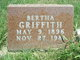 Profile photo:  Bertha Griffith