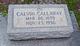 Calvin Clarence Callaway