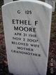 Ethel Francis <I>Seyfert</I> Moore