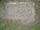 "Profile photo:  James A ""Jim"" Adams"
