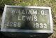 William Ozias Lewis
