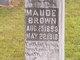 Maude Elizabeth Brown