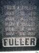 Mary Emeline <I>Bramhall</I> Fuller