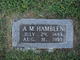 Profile photo:  A. M. Hamblen