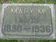 Mary M. <I>McPhail</I> Davis
