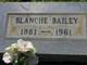 Profile photo:  Blanche Bailey