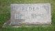 """Benjamin Thomas """"Big Ben"""" Reder"""