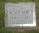 Jack W. Reder