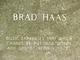 """Bradley Keith """"Brad"""" Haas"""