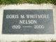 Doris M. Whitmore-Nelson