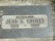 Jean A. Groves