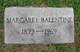 Profile photo:  Margaret Balentine