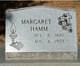 Mary Margaret <I>Mason</I> Hamm
